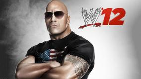 WWE 12 The Rock &#8211; In Black T-Shirt And Goggles
